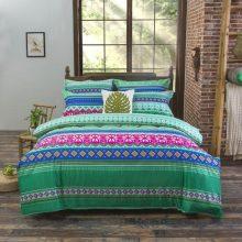Bohemian Mandala Patterned Bedding Set