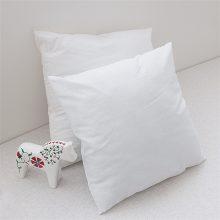 Rectangle White Cotton Cushion