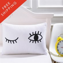 Winking Eye Bed Pillow Cover