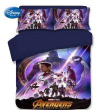 The Avengers Duvet Cover Bed Linen 3d Character Pillow Case Single Twin Full Queen King Size Boy Adult Bedding