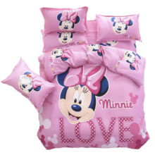 buy minnie mouse bed linen set