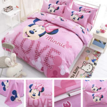 purchase minnie mouse bed linen set