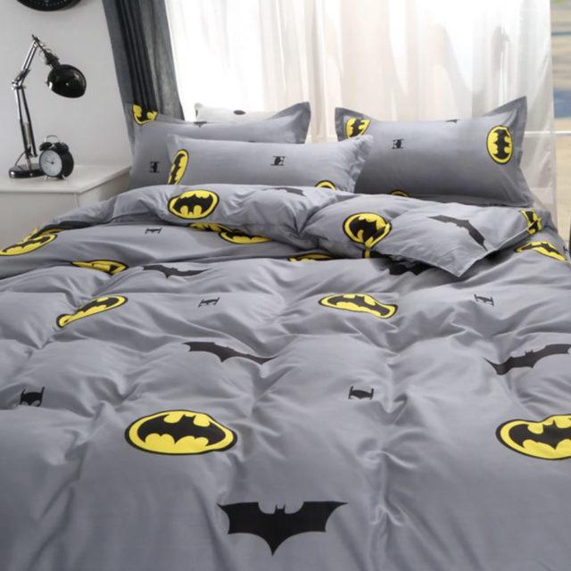 Batman Logo Bed Linen Super Now, Batman Queen Bedding